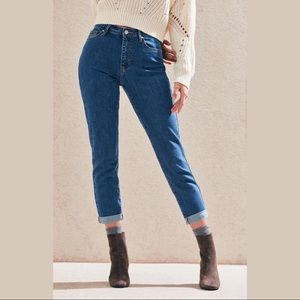 PacSun Mum Blue Mom Jeans